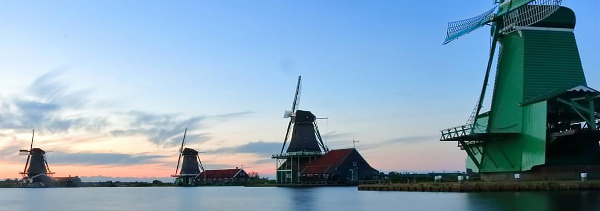 Zaanse Schans visit of Windmills